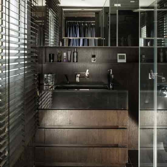 Bathroom Shower Decorating Ideas: Masculine Shower Room