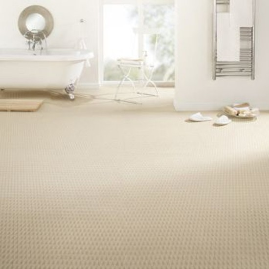 Carpet In A Bathroom: Takeaway Bath Carpet In Ivory From B&Q