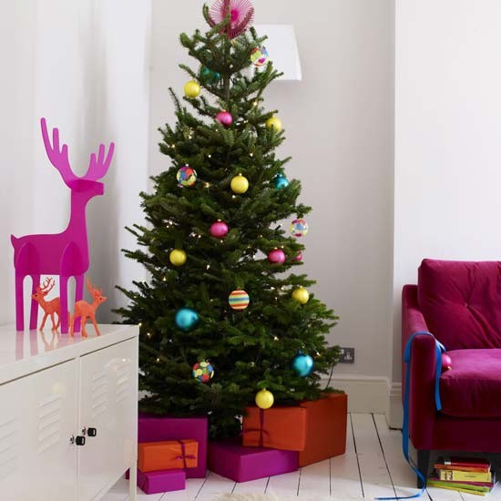 Christmas Tree Home Decorating Ideas: Modern Christmas Decorating