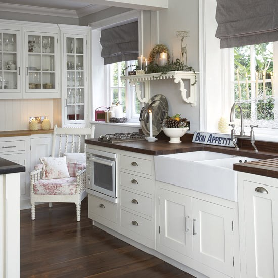 Country Style Kitchens 2013 Decorating Ideas: Modern Country Kitchen