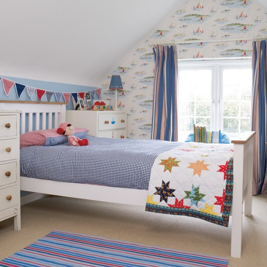 Ideas For Boys Bedroom: Colourful Boy's Bedroom