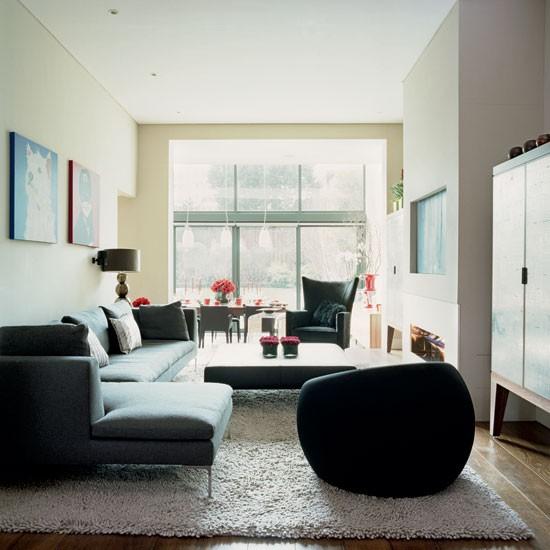 Housetohome Co Uk: Contemporary Living Room