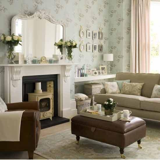 Apartment Living: Modern Vintage Living Room