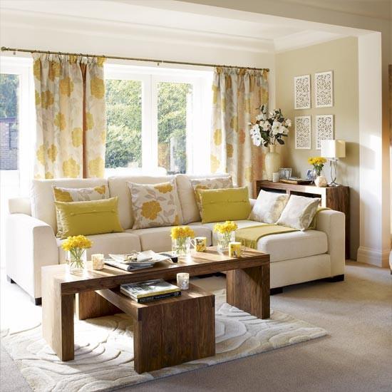 Spring Fresh Living Room