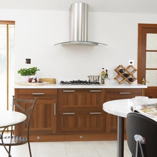 Walnut Kitchen Designs: Modern Walnut Kitchen