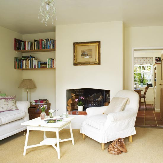 Country cottage living room | Living rooms | Living room ...