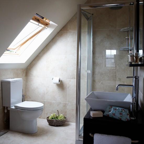 Ensuite Bathrooms: Attic En-suite Bathroom