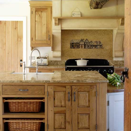 Rustic Kitchen Cabinets: Rustic Charm Kitchen