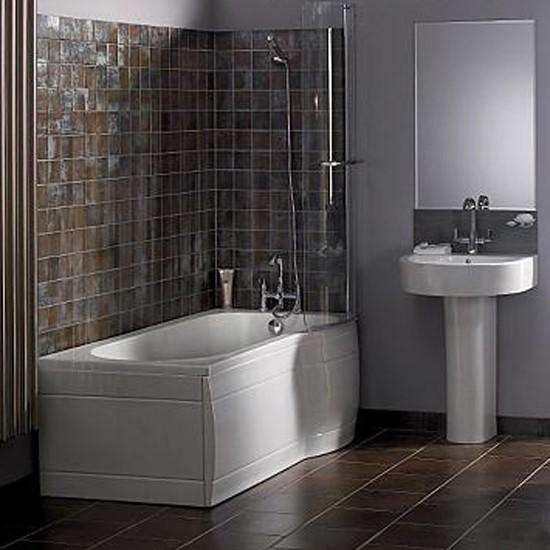 Tile Walls In Bathroom Ideas: Sleek Modern Tiles