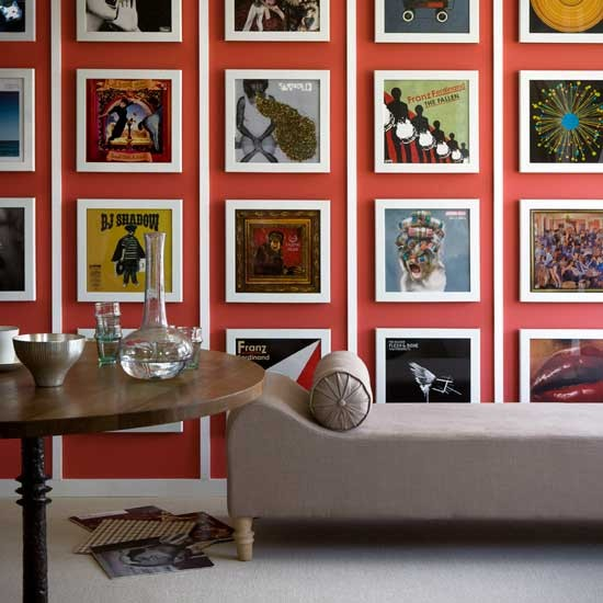 6 Ideas On How To Display Your Home Accessories: Modern Feature Wall Ideas - 10 Of The Best