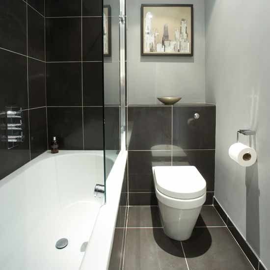 Black White And Silver Bathroom: Grey Black And White Bathrooms 2017