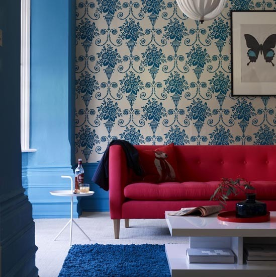 Non Traditional Wall Décor Ideas To Make A Bold Statement: How To Add Colour To Your Living Room