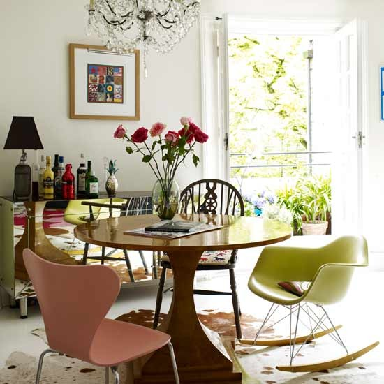 Eclectic Restaurant Decorating: Eclectic Dining Room
