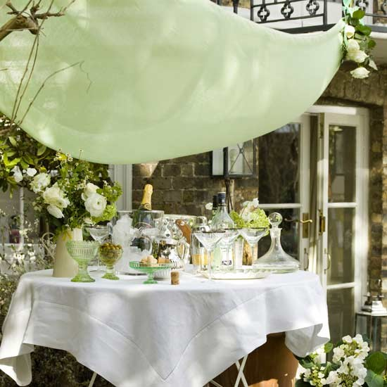 Elegant Party Decoration Ideas: Garden Party Decorating Ideas