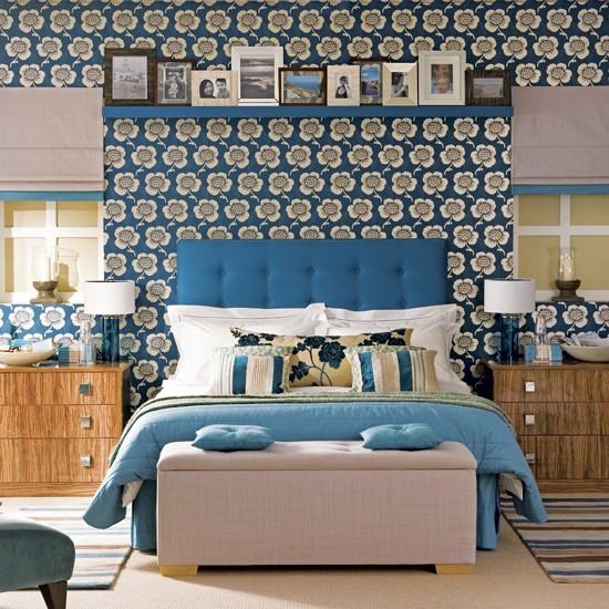 Boutique bedroom   Bold bedroom ideas   Wallpaper ...
