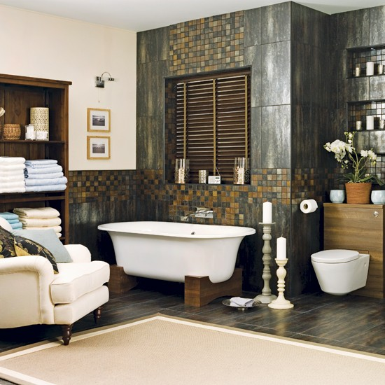 Spa-style Bathroom
