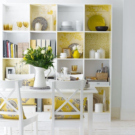 Create A Storage Feature Wall
