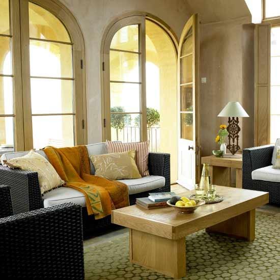 Tuscan Inspired Living Room: Italian-inspired Living Room