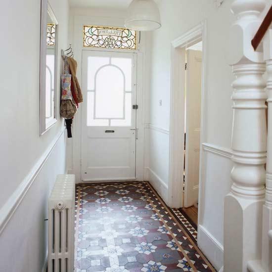 Victorian Hallway: Restore Original Floor Tiles