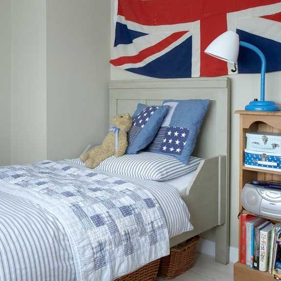 Union Jack Bedroom: Boys Bedroom Ideas And Decor