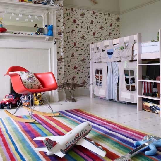 Kids Room Interior Designing Services In Begumpet: Boys' Bedroom With Castle Bed