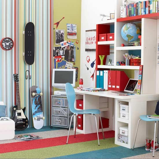 Cool And Funky Teenager's Bedroom
