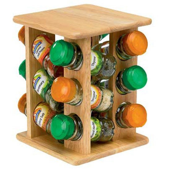 Revolving Spice Rack Plans PDF Woodworking