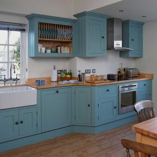 Shaker Style Kitchen Ideas: Vibrant Shaker Kitchen