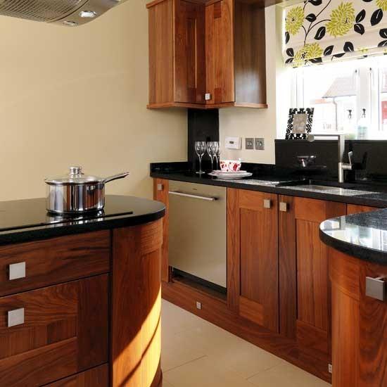 Dark Wooden Shaker Kitchen Shaker Kitchens Kitchen