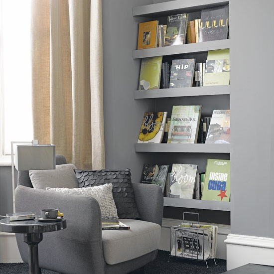 Storage Room Shelving Ideas: Living Room Storage Shelves