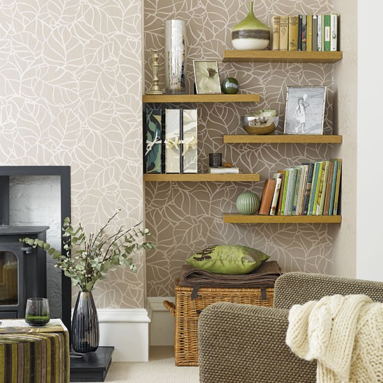Decorating Ideas For Living Rooms Pinterest: Living Room Alcove