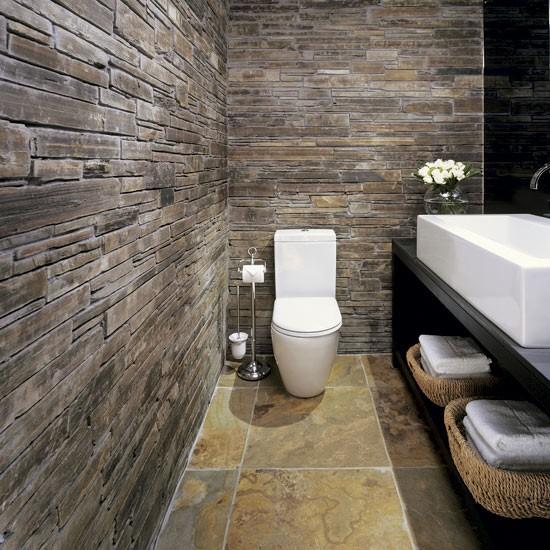 rustic bathroom tile - photo #1