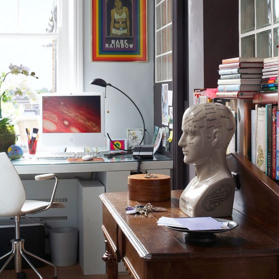 Small Space Office Decorating Ideas: Small Space Office