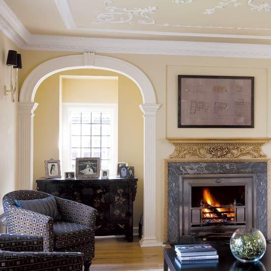 Cream Living Room: Housetohome.co.uk