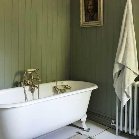 go for wood panelling  bathroom design ideas