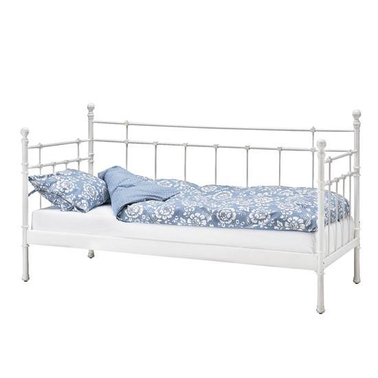 ikea beds daybeds guest beds tromsnes day bed frame bed. Black Bedroom Furniture Sets. Home Design Ideas