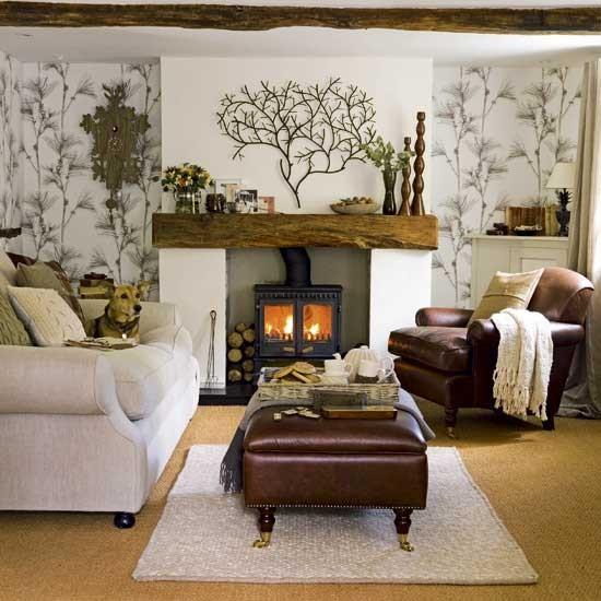 Housetohome Co Uk: Natural Living Room