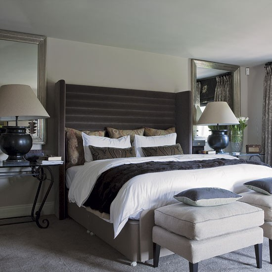 Country Chic Bedroom Decorating Ideas: Edwardian Country House