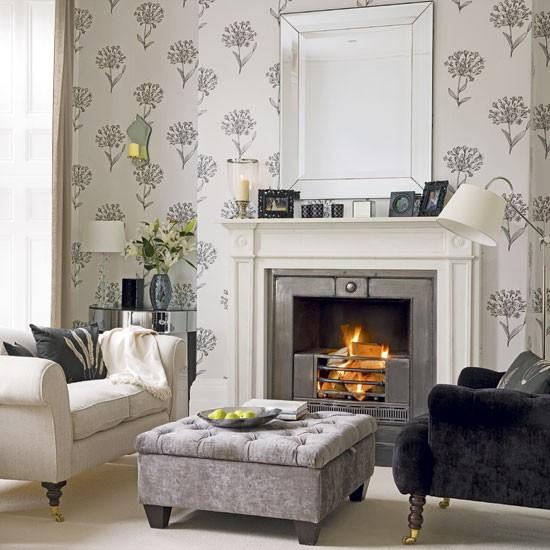 Charcoal And Cream Living Room Housetohome Co Uk