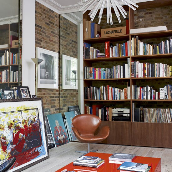 Victorian Library Room: Victorian Town House