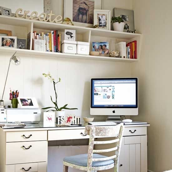 Small Home Office Ideas For Men And Women: Decorating Ideas