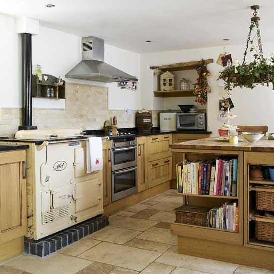 Rustic Country Kitchen Cabinets: Rustic Country Kitchen