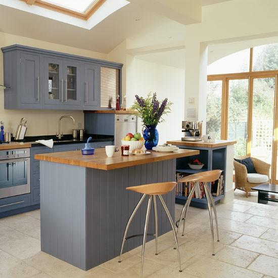Contemporary Kitchen Island: Contemporary Kitchen Extension