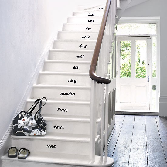 Add impact with stickers   Weekend decorating projects   housetohome. - Deco Ideas Stylish Hallways