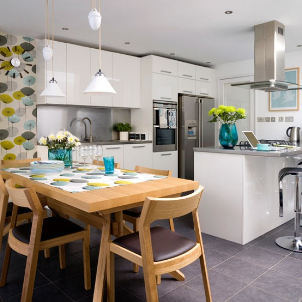 Creating An Open Kitchen And Dining Room: How To Create A Big Kitchen-diner