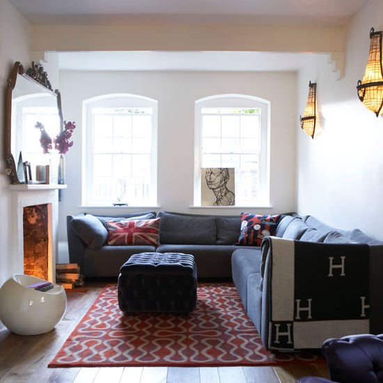 Take A Tour Around An Eclectic Family Flat