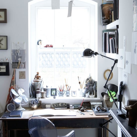 Eclectic Office: Take A Tour Around An Eclectic