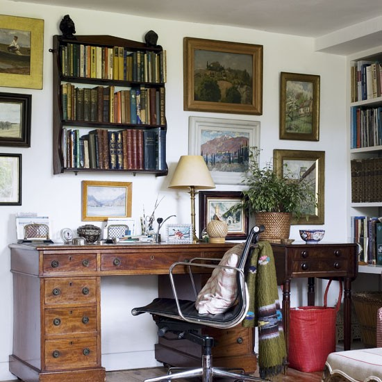 Traditional Home Office Design Ideas: Traditional Home Office