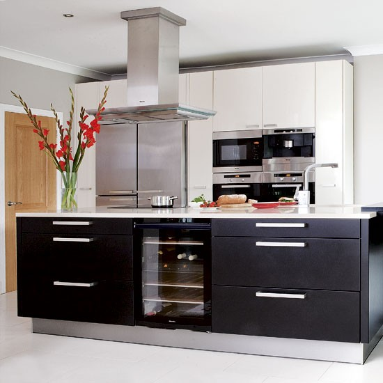 Black And White Kitchen: Decorating Ideas