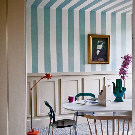 Decorating With Stripes For A Stylish Room: Decorating With Bold Stripes